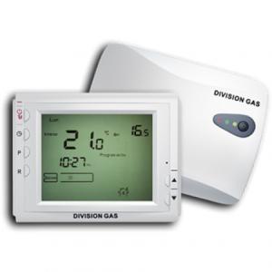 Termostat Division Gas 908 RF ambient radio centrala wireless fara fir 16A