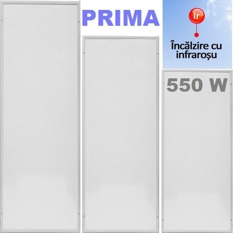 Panou Radiant Prima P6-550W alb - Alternative Pure Energy