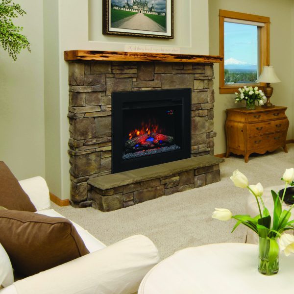 """Focar electric Spectrafire+ 23"""" Classic Flame"""