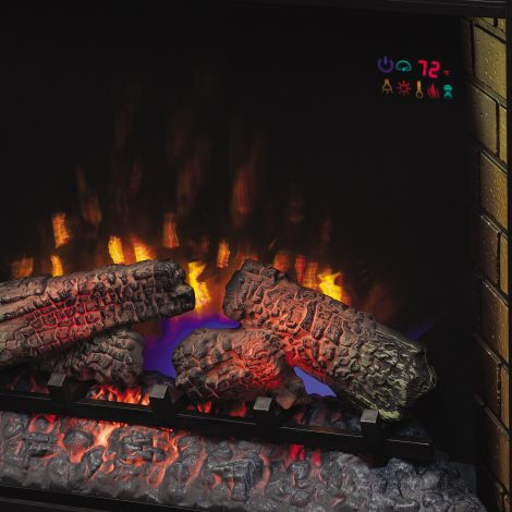 Semineu electric Classic Flame artesian