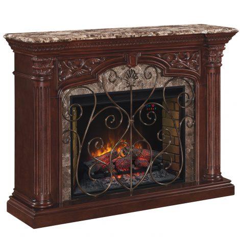 Semineu electric Classic Flame Astoria
