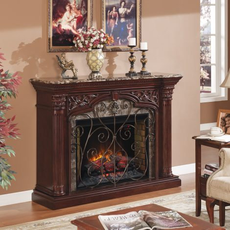 Semineu electric Classic Flame Astoria