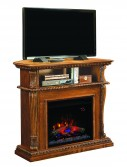 Media console Classic Flame electric