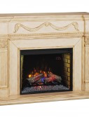 gossamer wall Classic flame electric semineu