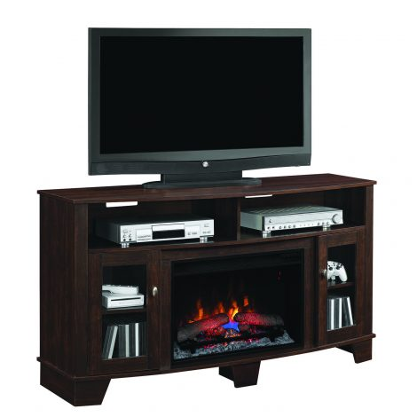 Tv media stand Classic Flame