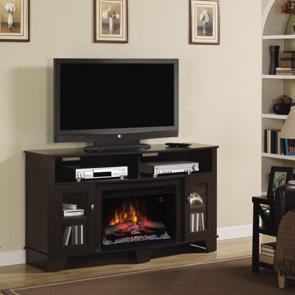 Tv media console media stand ClassicFlame