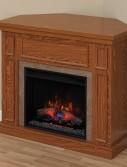 newcastle oak corner Classic flame electric semineu