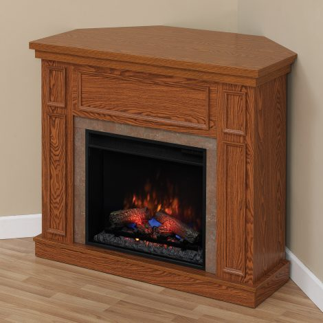 newcastle oak corner Classic flame electric semineu