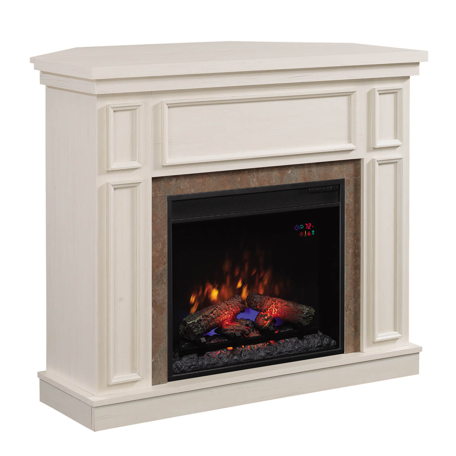 Seminee Electrice Classic Flame Newcastle White 23