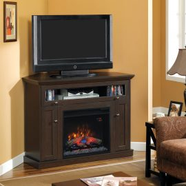 Tv media console Classic Flame