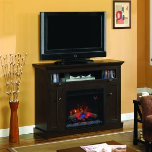 Tv media console Classic Flame