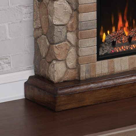 Seminee electrice ClassicFlame TEQUESTA Old World Brown 18 18WM40070-C296