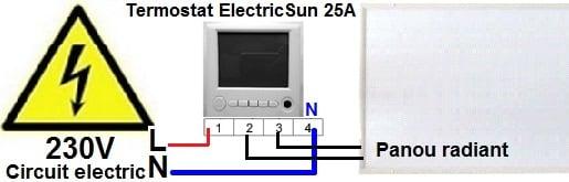 termostat de ambient cu fir, termostat centrala cu fir, termostat de ambianta