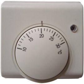 termostat mecanic, termostat cu fir, termostat ambient pret, termostat camera electricsun 6A neprogramabil