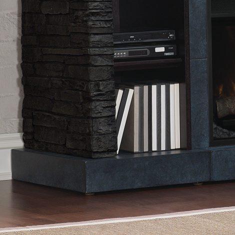 tv Media console cu focar electric Classic Flame Matterhorn 26MM2630-E454