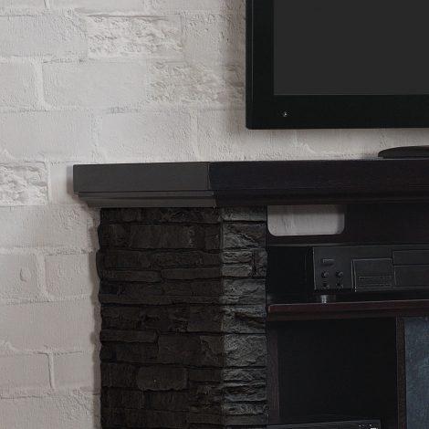 tv Media console stand cu focar electric 3d Classic Flame Matterhorn 26MM2630-E454