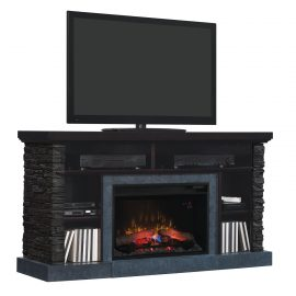 tv Media console stand cu focar electric ClassicFlame Matterhorn 26MM2630-E454