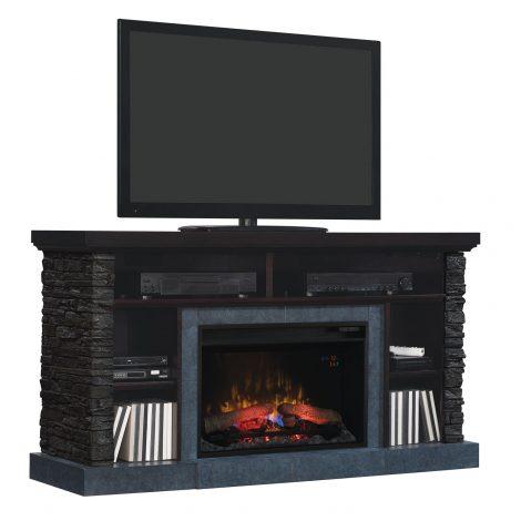 tv Media console stand cu focar electric ClassicFlame Matterhorn 26MM2630-E454