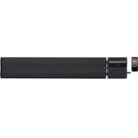 panouri radiante electricsun negru 1800w 2800w cu termostat incalzitoare interior exterior