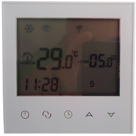 termostat prin telefon, termostat prin internet, termostat controlat prin internet, electricsun 16at ecojoy