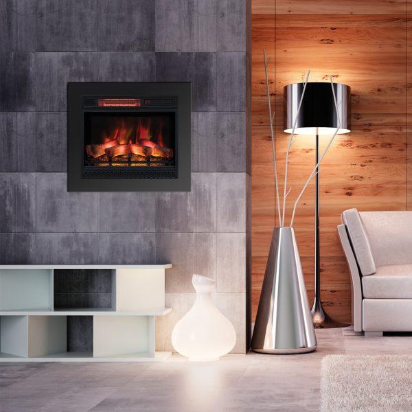 23EFU31GRA-wall Focar semineu electric Spectrafire+ 23 inch Classic Flame
