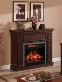 newcastle-brown-room Semineu electric Classic Flame Newcastle Brown