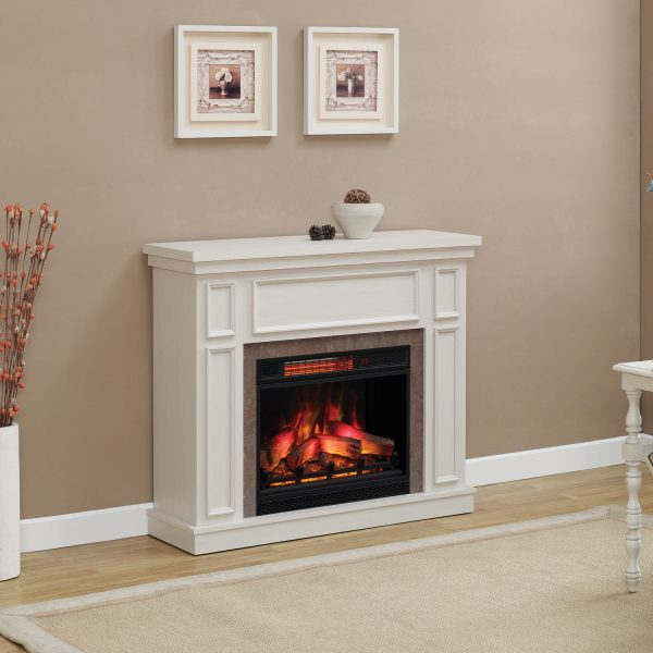 newcastle-white-room Seminee electrice Classic Flame Newcastle White Antique 23 ALB