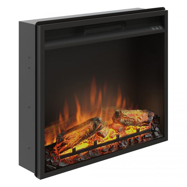 Focar electric incorporabil 3D Tagu PowerFlame 23 inch 23PF1A lateral