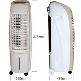 Racitor de aer prin evaporare ElectricSun ES80W 470 dim