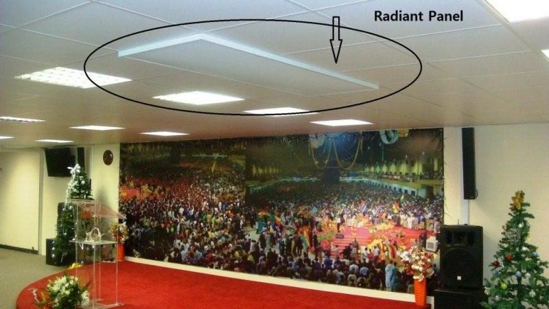 Panouri radiante Sunjoy Arad incalzire electrica in Gradinita